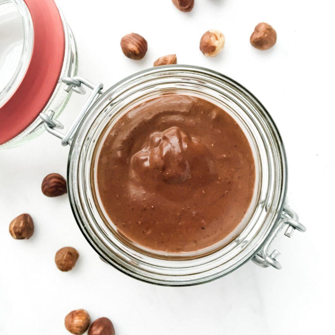 Recept voor een gezonde zelfgemaakte Nutella